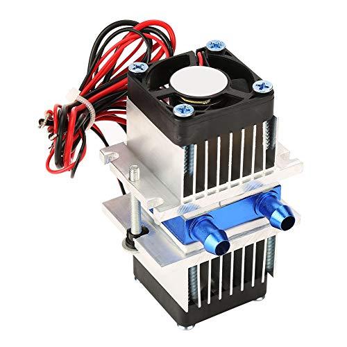Dispositivo di raffreddamento ad acqua per dispositivi a semiconduttore fai-da-te Dispositivo di raffreddamento a refrigerazione Peltier termoelettrico(120W)