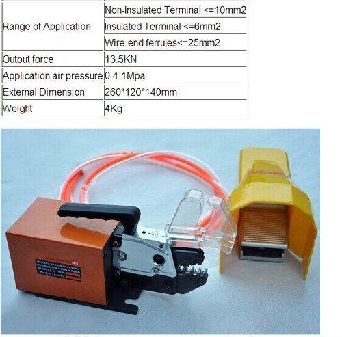Crimpen Gowe pneumatische Werkzeuge für Arten von PILER Crimpen Maschine Crimp Terminals