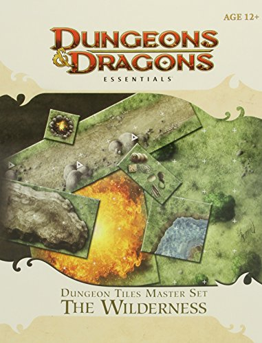 Dungeon Tiles Master Set - The Wilderness: An Essential Dungeons & Dragons Accessory (4th Edition D&D) (Rpg Game Master)