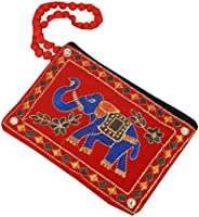 Kuber Industries Embroided Cotton Mobile Cover with Hand Dori, multicolor