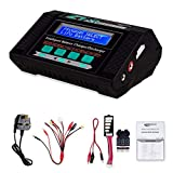 RC Hobby Battery Balance Charger, Keenstone 10A 100W AC/DC Lipo Battery Balance Charger/Discharger