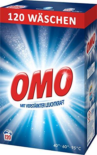 Omo Mit verstärkter Leuchtkraft 120 WL  8.4 kg Karton