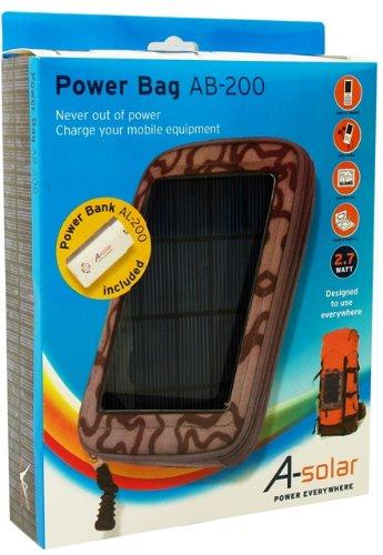 Notebooktasche A-solar Power Bag grey -