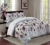 3 Teilig XL Moderne Doppelbett Bettgarnitur 230x250cm Tagesdecke mit Kissenbezug Bettüberwurf Bett Decke + Kissenbezüge Patchwork + Kissen-Bezug 3 Teile SET