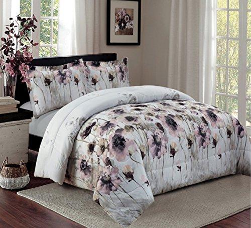 3 Teilig XL Moderne Doppelbett Bettgarnitur 230x250cm Tagesdecke Mit  Kissenbezug Bettüberwurf Bett Decke + Kissenbezüge Patchwork + Kissen Bezug  3 Teile SET
