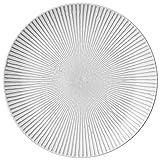 Lene Bjerre Abella grande grigio piastra set di 2piatti in ceramica, sono delizioso, adatti al tavolo da pranzo o come accessorio decorativo in bagno o la casa.