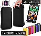Shot Case Pull Up Schutzhülle für Nokia Lumia 930, Blau