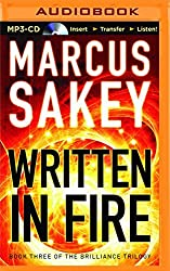 Written in Fire (The Brilliance Trilogy) by Marcus Sakey (2016-01-12)