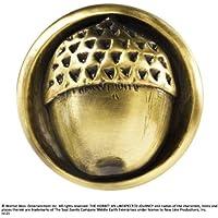 Noble Collection il Signore degli Anelli-Spilla Ghianda di Bilbo, Colore Oro, Taglia Unica, NN1329