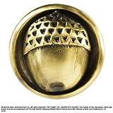Noble Collection–Herr der Ringe–Brosche Eichel von Bilbo, Farbe Gold, One Size, nn1329