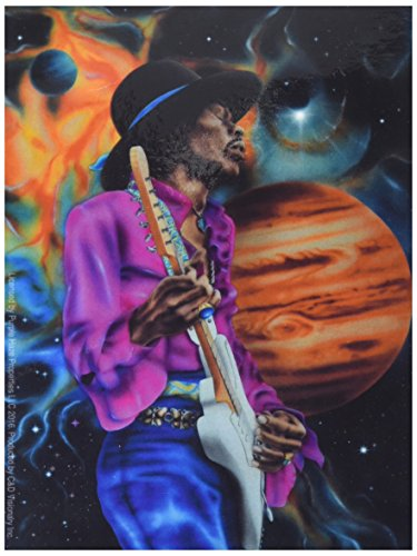 "Preisvergleich Produktbild HENDRIX JIMI SPACE 3, Officially Licensed Original Artwork, 3.75"" x 5""- Sticker DECAL Pegatina"