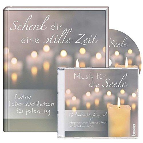 Geschenkbuch mit CD »Schenk dir eine stille Zeit«: Kleine Lebensweisheiten für jeden Tag