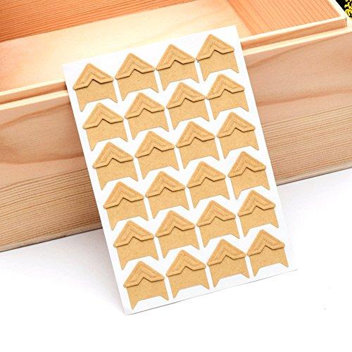 5 hojas 120 esquinas fotos autoadhesivas montaje foto