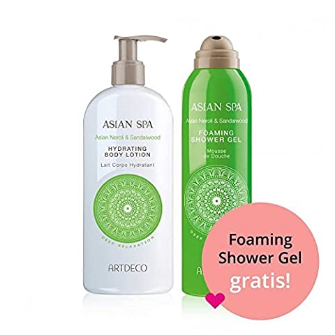 Artdeco Asian Spa Deep Relaxation Körperpflege Set - Hydrating Body Lotion 400 ml + Foaming Shower Gel 200 ml