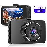 Dashcam Autokamera FHD 720P Auto DVR Kamera Videorecorder Dashcam Dash Cam Camera Bewegungserkennung | WDR | Auto DVR Camcorde | Parkmonitor | Loop-Aufnahme | Nachtsicht | G-Sensor