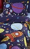 Catherine Lansfield Kids Outer Space Single Duvet Set - Multi