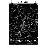 Mr. & Mrs. Panda Poster DIN A2 Stadt Marburg an der Lahn
