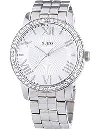 Guess Damen-Armbanduhr Analog Quarz Edelstahl W0329L1