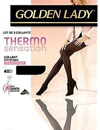 Lot de 2 collants Golden Lady Thermo sensation 40D