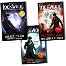 Lockwood & Co 3 Books Collection Pack Set by Jonathan Stroud (Lockwood & Co: The Hollow Boy, Lockwood & Co: The Whispering Skull: Book 2, Lockwood & Co: The Screaming Staircase: Book 1)