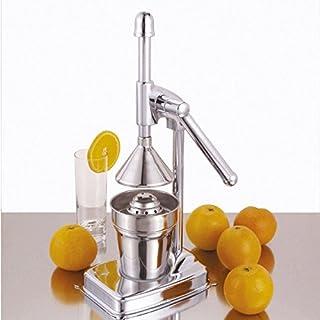 axentia Classic Manual Citrus Juicer - Commercial Grade Chrome Plated Metal Juice Press 250mL - Citrus Juicer 18.3 x 13 x 36cm