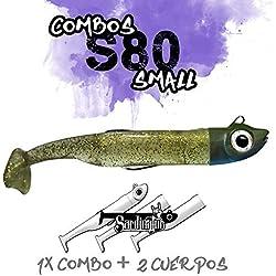 Sardinator S80 COMBO Vinilo Pesca Spinning