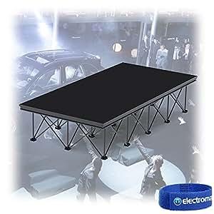 alustage panther 2m x 1m aluminium event platform electronics. Black Bedroom Furniture Sets. Home Design Ideas