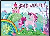 12er-Set Einladungskarten Kindergeburtstag Einhorn Girls Mädchen Kinder Rosa Geburtstag lustig witzig ausgefallen Girls Teens Erwachsene Unicorn