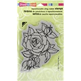 Stampendous Cling Rubber Stamp 4-inch x 6-inch Sheet-Timeless Rose
