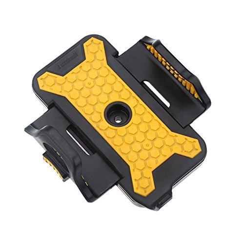 Preisvergleich Produktbild Lixada Fahrrad Telefon Halter StandhalterungEinstellbare Breite53mm-83mm Antiskid für iPhone für Samsung Mobiltelefon GPS MP4 MP5