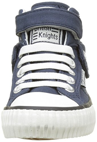 British Knights Jungen Roco B39-3723c-05 Hohe Hausschuhe Blau (Blue)