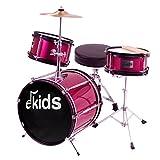 Ekids DSJ90PK - Batería junior, color rosa