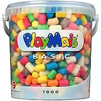 PlayMais 160027 - PlayMais Basic 1000 Eimer, ca. 1000 Teile