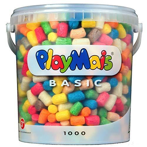 Loick Biowertstoff 160027 - PlayMais Basic 1000 Eimer, über 1000 Teile