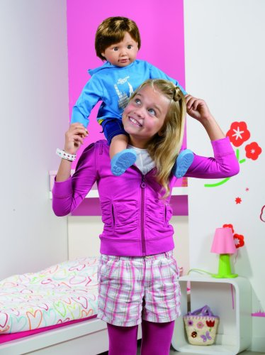 Imagen principal de Zapf Creation Sam Toddler: muñeco, 63 cm [versión en inglés]