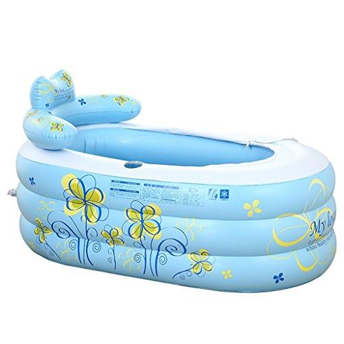 JCOCO Große aufblasbare Badewanne Familie Badewanne Junge Kinder Pool Baby Falten Bad Schaumbad Eimer (größe : 160 * 90 * 75) -