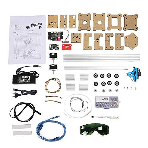 Akozon Zeichenmaschine 100-240VA 2 Achsen DIY CNC XY Plotter Stift Zeichenmaschine Roboter verarbeitungsbereich 320 * 266mm Malerei Handschrift Roboter Kit(EU Stecker) -