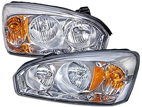 Chevy Malibu Headlights OE Style Replacement Headlamps Driver/Passenger Pair New by Headlights Depot