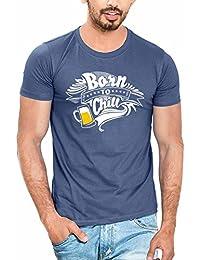 WYO Men's Cotton Half Sleeve T-Shirt