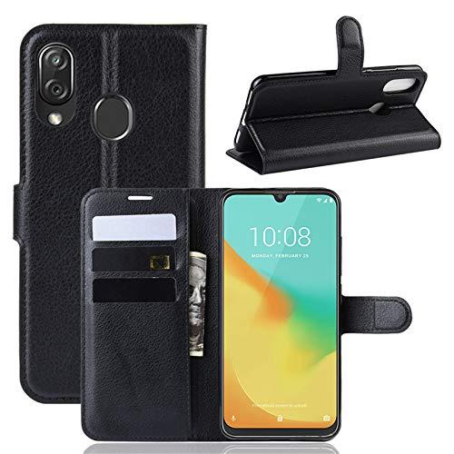 betterfon | ZTE Blade V10 Vita Hülle Handy Tasche Handyhülle Etui Wallet Case Schutzhülle mit Magnetverschluss/Kartenfächer für ZTE Blade V10 Vita Schwarz
