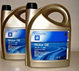 General Motor 5w30 Fuel oil dexos 2, Economy Long Life 2 Taniche 5 Litros