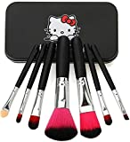 #10: Skinplus Complete Makeup Mini Brush Kit Eye/Lips/Face Makeup Brush With A Storage Box - Black
