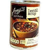 Cocina Low Fat sopa de lentejas 400 g de Amy
