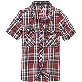 Brandit Roadstar Hemd Rot/Schwarz/weiß 4XL