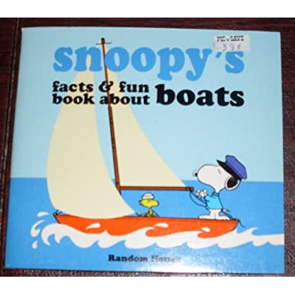 Snoopy's Facts and Fun Book About Boats
