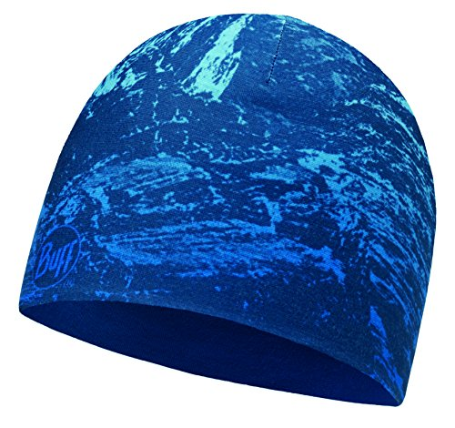 Buff Microfiber Reversible Hat Mütze, Mountain Bits Blue-Blue, One (Hat Blues)