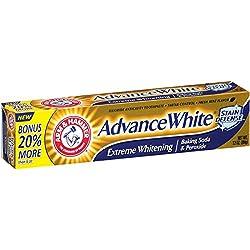 Arm & Hammer Advance White Extreme Whitening Fresh Mint Flavor Fluoride Anticavity Toothpaste, 7.2 oz