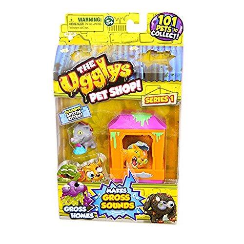 Ugglys Pet Shop Gross Homes Series 1 (Cat Shack) (Stadt-stack)