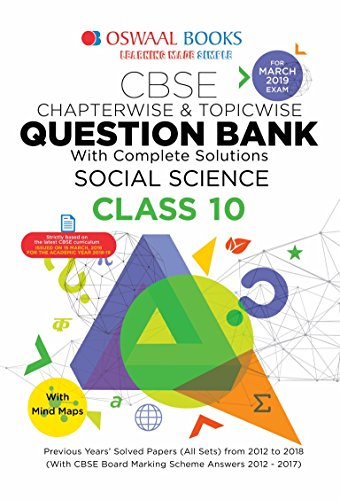Oswaal CBSE Question Bank Class 10 Social Science Chapterwise and Topicwise (For March 2019 Exam) 6