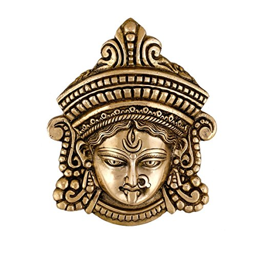 Collectible India Durga Face Wall Hanging,26 Cm